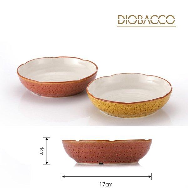 디오바코 연꽃접시2P