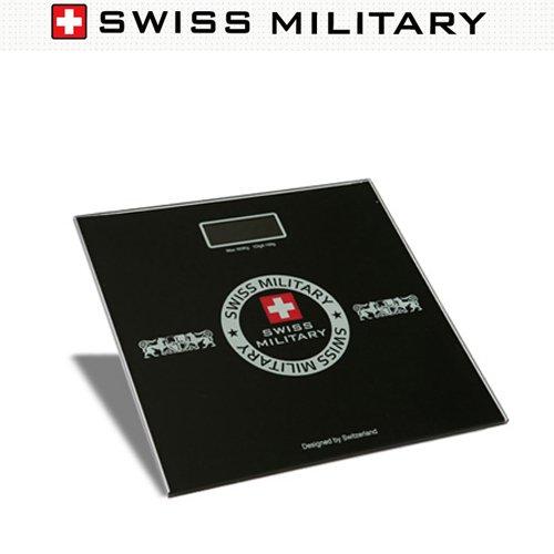 스위스 밀리터리 (블랙다이아몬드)디지털체중계/SS-501