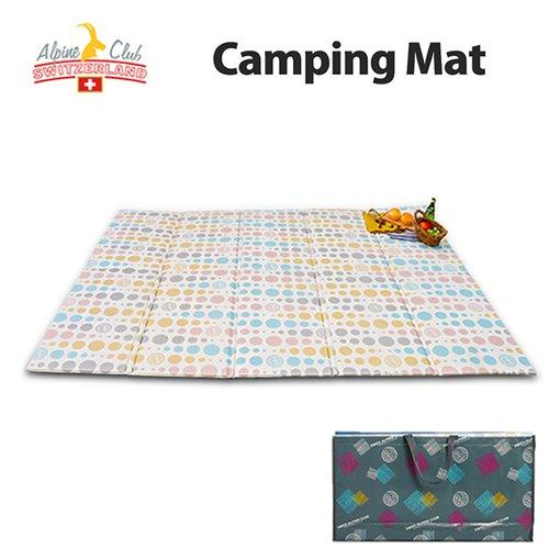 스위스 알파인클럽 더블 파스텔 캠핑매트