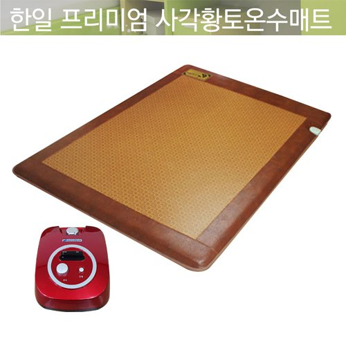 한일생활과학 사각황토 온수매트 더블 140*200cm