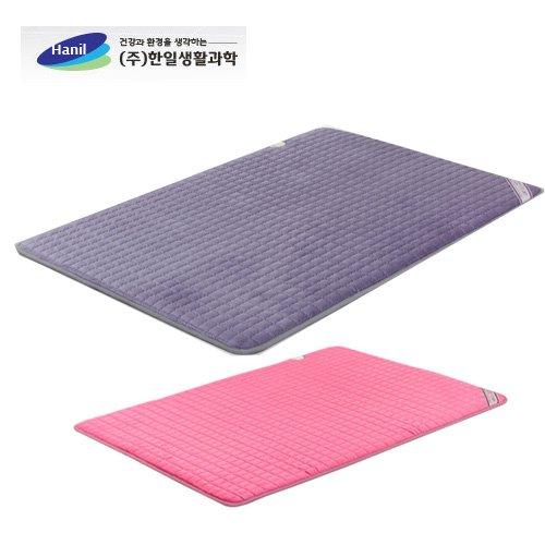 한일생활과학 名品온돌마루 극세사 매트 더블 2난방 150*200cm 핑크, 퍼플 택1